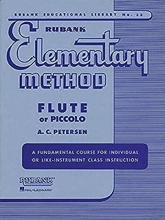 Rubank Elementary Method - Flute or Piccolo (Rubank Educational Library)