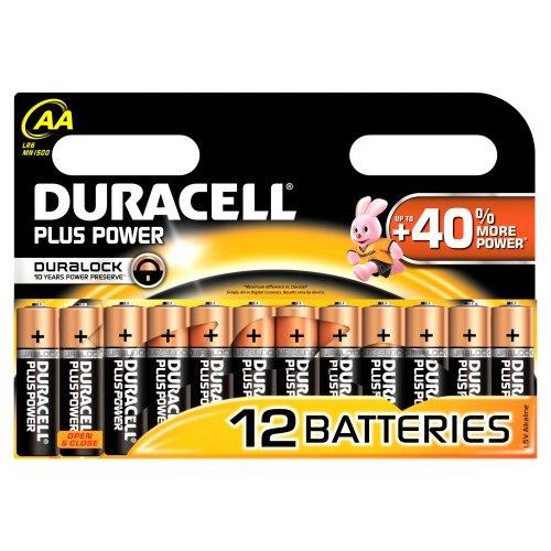 Duracell Plus Power Batterie AA