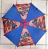 Umbrella - Disney - Cars World Grand Prix Blue Kids/Youth New 643072