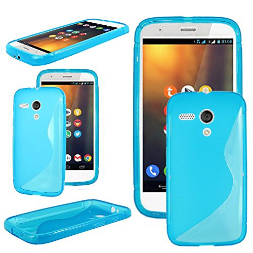 ebestStar - Funda Compatible con Motorola Moto G, XT1032 Carcasa Gel Silicona...