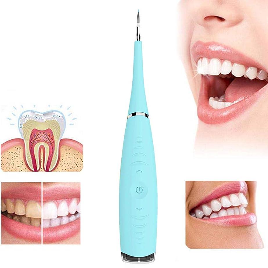 パシフィック巻き戻す主流歯をホワイトニング電動歯石除去ツール防水ステンレス鋼歯石スクレーパー歯のクリーニング消しゴム