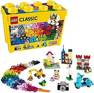 LEGO 10698 Classic BoîtedeBriquescréativesDeluxe, Set de Construction, Rangement de Jouets