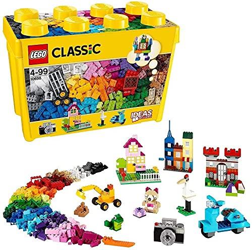 LEGO 10698 Classic Boîte de Briques créatives Deluxe, Set de