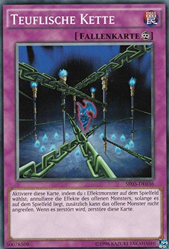 SR03-DE036 - Teuflische Kette - Common - Yu-Gi-Oh - Deutsch - 1. Auflage - LMS Trading