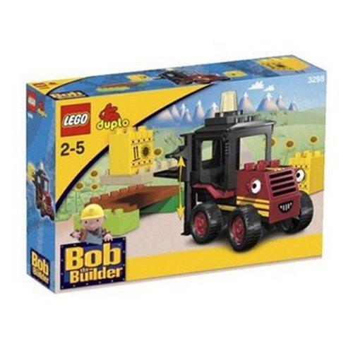 Lego 3298 - Bob der Baumeister Lifti stapelt Sonnenblumenöl