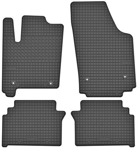 Motohobby Gummimatten Gummi Fußmatten Satz für Opel Meriva A (2002-2010)