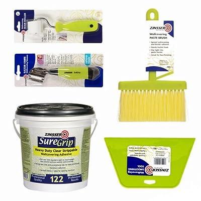 Zinnser Wallpaper Application and remover Kit Bundles