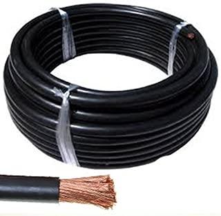 5 metros Cable de arranque H07V-K 10mm2 de sección color Negro