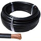 10 metros Cable de arranque H07V-K 10mm2 de sección color Negro