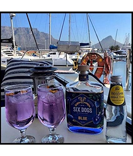 Six Dogs Gin Blue [Perlagonium and Pea] (1 x 0.7 l) - 8
