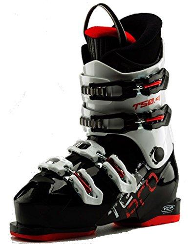 TECNOPRO Kinder Ski-Stiefel T50-4 Skistiefel, schwarz/Weiß, 24