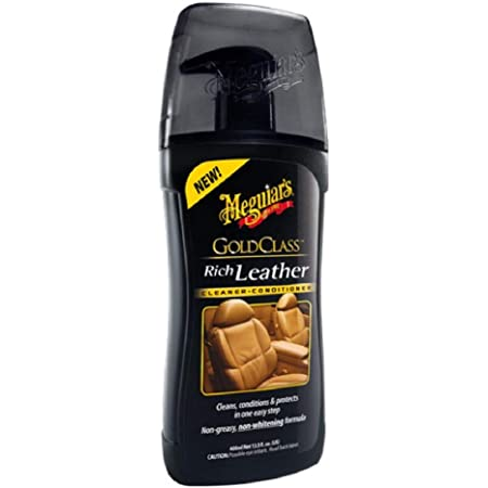 Meguiars Gold Class Leather Cleaner Conditioner Lederpflege 414ml Auto