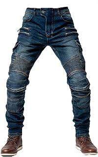 cuir//imperm/éable avec renforts Texpeed Pantalon de moto pour homme noir