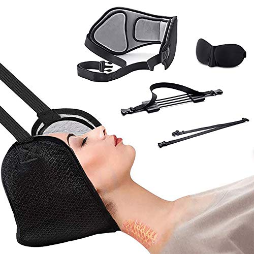 Breathable Neck Hammock, Portable Cervical Vertebra Traction Device To Relax Neck Muscles To Relieve Soreness, Soft And Elastic Massager, Used To Massage Cervical Spine Muscles To Relieve Soreness