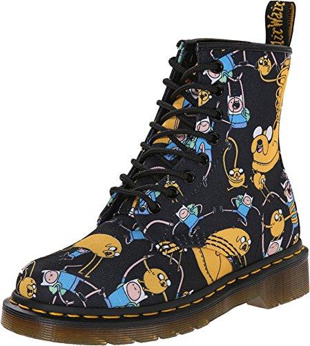 Dr. Martens R14318101 8 Eye Boot Z Dms Adventure Time Finn And Jake
