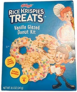 Kellogg's Rice Krispies Treat Chocolate frosted donut kit
