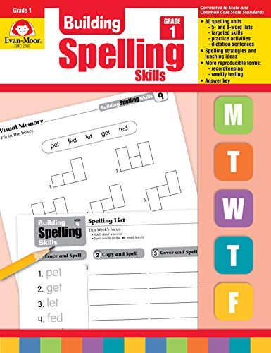 Compare Textbook Prices for Building Spelling Skills: Grade 1 Teacher ed. Edition ISBN 0023472027054 by Evan Moor