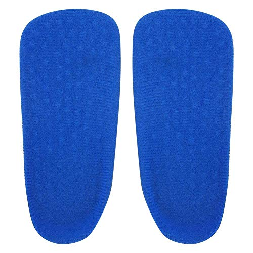 PU Height Increase Insoles, Comfort Non-Slip, Sneaker Insert Cushion, Shock Absorption and Relieve Foot Pain, Anti-Slip Shoe Pads, Unisex(S)