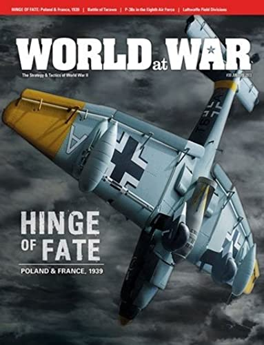 seguro de calidad DG  World at War Magazine  30, with Hinge Hinge Hinge of Fate  Poland & France 1939 Board Game by DG Decison Games World at War Magazine  wholesape barato
