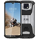 Rugged Phone(2020) OUKITEL WP6, IP68 Outdoor Mobile Phone Unlocked W/ 10000mAh Battery (18W Fast Charge), 48MP Quad Camera, Helio P70 6GB+128GB, 6.3 inch FHD+ Gorilla Glass, DUAL SIM GPS WiFi Black