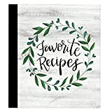 RECIPE BINDER AND CARDS: 3-Ring hardcover binder is 8 x 9-inches, includes measurement conversion and ingredient substitution reference; comes with 40 cardstock 4 x 6-inch recipe cards with full color artwork on front SPLATTER-PROOF RECIPE CARD PROTE...