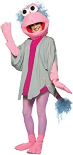 Womens Fraggle Rock Mokey Halloween Fancy Dress Party Costume