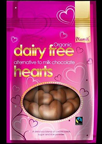 Plamil Schokoladen-Herzen vegan bio 125g