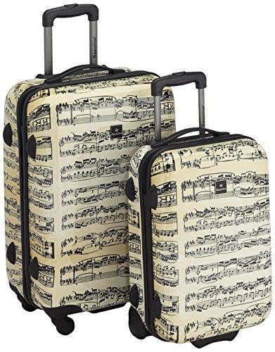 Saxoline Set di valigie 1322H0.12.20 Beige 82.0 liters
