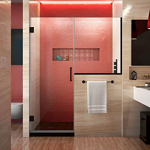Find Discount DreamLine Unidoor Plus 66-66 1/2 in. W x 72 in. H Frameless Hinged Shower Door with 36...