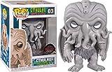 Funko H.P. Lovecraft Cthulhu EXC Pop! - Figura de vinilo, color blanco y negro