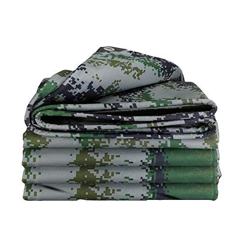 Dall bâche Bâche Imperméable Tissu Anti-Pluie Crème Solaire Tente Toit Jardinage 500G / M² (Couleur : Green, Taille : 4.5 * 6m)