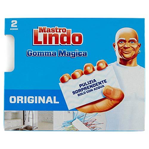 Mastro Lindo la Gomma Magica con Triplo Strato - 1 Confezione da 2 Gomme