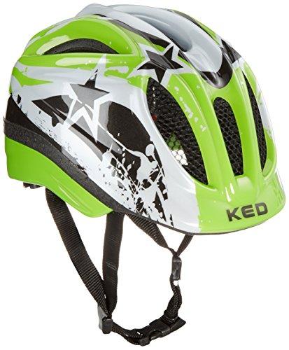 KED Fahrradhelm Meggy, Green Stars, 52-58 cm, 15409179M
