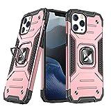WOZINSKY Ring Armor - Custodia rigida per iPhone 12 Pro Max