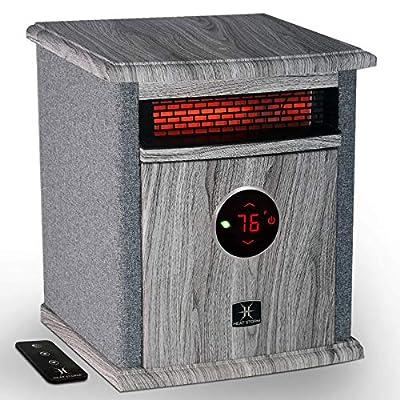 """Heat Storm HS-1500-ILODG Cabinet Heater, 15"""" H x 13.5"""" W x 11"""" D, Gray"""