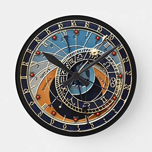 prz0vprz0v - Reloj de pared (madera, sin tachuelas, 30,5 cm)