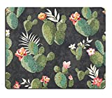 Pingpi Gaming Mouse Pad Custom,Vintage Cactus Mouse pad mice gaming May, 2021