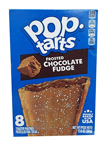 Kellogg's Frosted Chocolate Fudge Pop Tarts 384g / 13.5oz