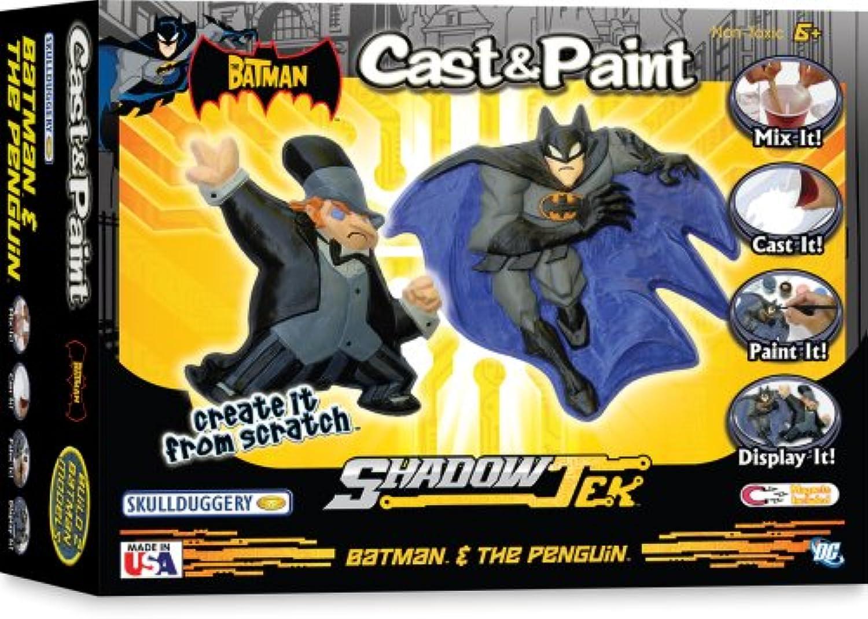 Cast & Paint Batman Vrs The Penguin
