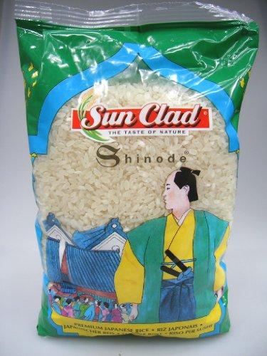 5er Pack ~ Shinode Sushi Reis [5x 1kg] Sushireis SUN CLAD Sushi Rice