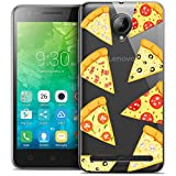 Funda para Lenovo C2, Ultrafina de Foodie Pizza