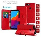 Honor 5C Case Premium Leather Wallet Case with Card Holder