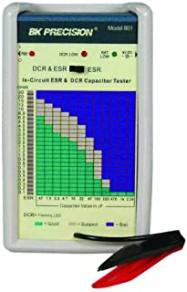 B&K Precision 881 In-Circuit ESR and DC Resistance Capacitor Tester