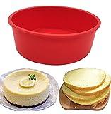 Moule en silicone à gâteau rond 17cm Moule à gâteau, sans BPA, antiadhésif...