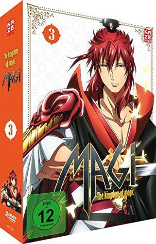 Magi: The Kingdom of Magic - Staffel 2 - Vol.3 - [DVD]