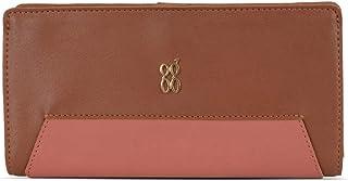 Baggit Autumn/Winter 2020 Faux Leather Women's 2 Fold Wallet (Brown) (Dnox)