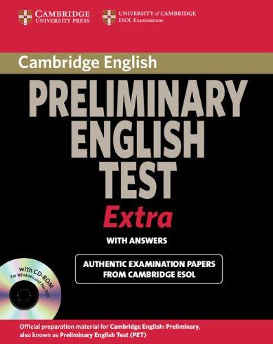 Cambridge Preliminary English Test Extra Student's