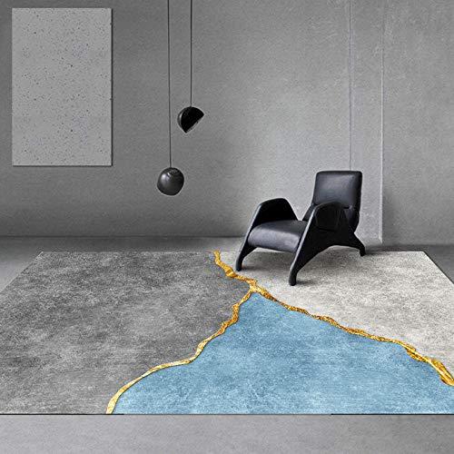 DYEWD Rugs No se desprende, sala de estar alfombra...