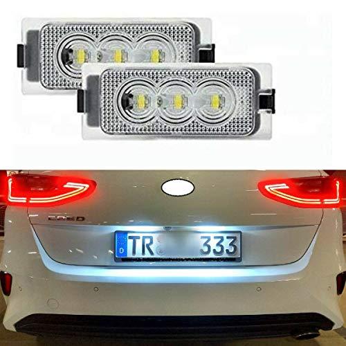 2 x TOP Module SMD LED Kennzeichenbeleuchtung Nummernschildbeleuchtung (307REN)