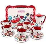 Buyger Dose Tee-Set Teeservice Kaffeeservice Geschirr Küche Spielzeug Rollenspiele für